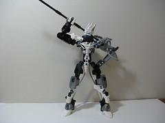 Kalek Remake V3 01 (ExclusivelyPlastic) Tags: ice robot factory lego hero bionicle toa mech
