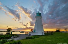 come to niagara and shoot this lighthouse at sunset (Rex Montalban Photography) Tags: sunset lighthouse niagara stcatharines portdalhousie rexmontalbanphotography