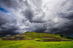 Inca Ruins (NimonPro.com) Tags: sky peru rock inca clouds ruins incanruins incaruins