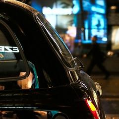 eze (Cosimo Matteini) Tags: reflection london window shop night pen square person colours walk candid cab taxi pedestrian olympus nike westend stride m43 mft ep5 tezenis mzuiko cosimomatteini