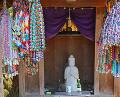 Takayama Temple (Lark Ascending) Tags: japan temple buddha buddhist cranes gifts nippon takayama nihon offerings