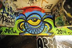 NITE OWL (STILSAYN) Tags: california graffiti oakland bay east owl area nite 2014