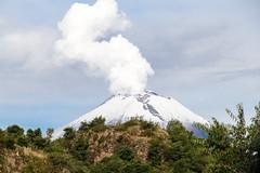 Popocatepetl (carlrug) Tags: de landscape mexico volcano paso puebla popocatepetl cortes volcan