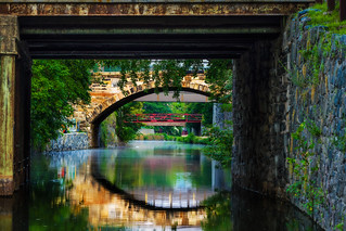 Georgetown Bridges over the C & O Canal