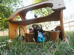 Miniature farmer doll Wildflower Innocence 6 (wildflowertoys) Tags: woodentoys dollhousedolls toybarn bendydoll naturaltoys waldorftoys elvesandangels dollhousefamily toystable wildflowerinnocence