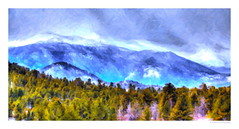 Rocky Mountain Winter (SmokinToast) Tags: show camera travel family blue light sunset wallpaper portrait usa cloud sun storm abstract southwest color sexy art love nature strange beautiful composition america forest ink photoshop canon painting landscape rockies fire weird photo spring cool interesting flora friend perfect colorado colorful paint dof shot dynamic skin sweet bokeh pastel magic awesome alien explosion scenic picture rocky brush romance pop canvas explore western oil romantic 5d liquid iphone 2014 compose ipad snapart markii