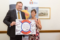 "Stephen Mosley MP joins Jackie Roberts to make RLSS pledge to reduce drownings • <a style=""font-size:0.8em;"" href=""http://www.flickr.com/photos/51035458@N07/14428287586/"" target=""_blank"">View on Flickr</a>"