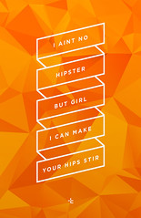 Hipster (christarampi) Tags: geometric typography mac market geometry hipster miller type prick frick