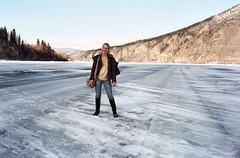 FREIJA... N' THE ICE BRIDGE  ( ALASKAN EYES ) Tags: last one visit before cutie breakup froma
