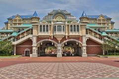 Tokyo Disneyland and TDL Hotel Station