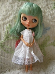 IMG_8663...I made Opal a new white dress today.
