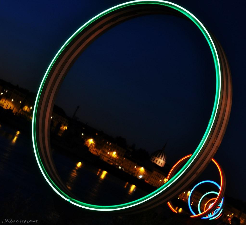 Color art nantes - Anneaux De Buren Nantes Helene Iracane Tags Blue Light Sky France Color