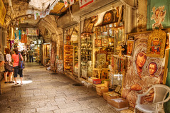 Jerusalem_Old City market_1_Noam Chen_ IMOT (Israel_photo_gallery) Tags: shopping israel commerce market jerusalem markets shops leisure recreation stores economy christians oldcity religiousarticles noamchen