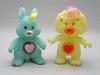 Swift Heart Rabbit & Brave Heart Lion (The Moog Image Dump) Tags: bear cute rabbit toy toys glow heart cousins lion kawaii figure brave swift care gid