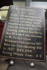 London & North Western Railway Cornwall 3020 at NRM National Railway Museum Locomotion Shildon 03-05-2013