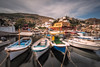 Restless (Nick Twyford) Tags: longexposure nopeople greece fishingboats hydra attica nisi earlymorninglight kamini ydra colourimage leefilters nikond800 lee09nd lee06gndsoft phottixgeoone nikkor1635mmf40