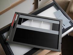 home engineering (The Deer Gunter) Tags: mediumformat diy scanner agfa summa mamiya7 fseries duoscan slideholder t2500