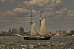 Good Day For Sailing (Tommy Bass) Tags: nyc newyorkcity boats nikkor sailingships newyorkharbor nikond200 nikkorlenses nikkorafsdxvrzoomnikkor55200mmf456gifed