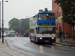 Stagecoach Bus 16136, Wood St, Doncaster (Man of Yorkshire) Tags: bus london buses volvo east 25 1998 alexander stagecoach doncaster olympian woodstreet 16136 r136evx va136