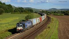 X4 E-852 BoxXpress (vsoe) Tags: railroad train germany bayern deutschland siemens eisenbahn railway bahn x4 193 züge güterzug maintal mrce vectron baverian güterzugstrecke