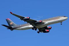 JY-AIA // Royal Jordanian / Airbus A340-211 (Na Maew Spotter) Tags: rj royaljordanian a342 a340200 jyaia rj180