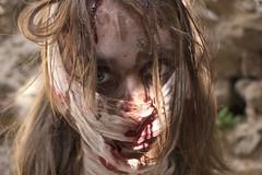 Mummia (Skarlo87) Tags: girl make up monster makeup fantasy warhammer mummy festa vinci larp mostro whl deserto bende trucco unicorno grv khemet mummia khemri whlive