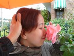 Flower in face 2