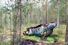 The Kyrk mosse junk yard 8/12 (Ole Houen) Tags: old car yard canon vintage eos junk sweden iii 5d wreck mk mosse ef24105mmf4lisusm kyrk olehouen