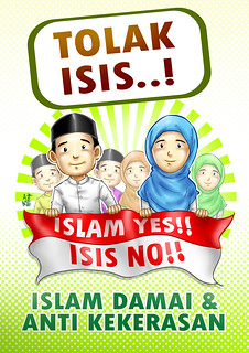 Poster Tolak ISIS