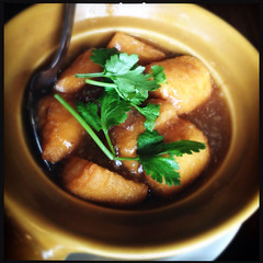 Claypot Tofu @ Soup Restaurant (Lester Ong) Tags: food singapore tofu tasty delicious eat claypot hungry beancurd fried doufu tofuclaypot