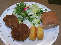 Chick Pea and Nut Burgers (ERIK THE CAT) Tags: food home vegetable burgers vegetarian