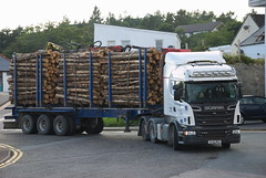 Scania R500 (Mrtainn) Tags: truck scotland highlands alba forestry escocia lorry alban szkocja scania esccia schottland westerross schotland ecosse lochalsh scozia skottland rossshire r500 skotlanti skotland kyleoflochalsh broskos caollochaillse skogbruk bosbouw forstwirtschaft esccia skcia foresterie albain skogsbruk iskoya  rawtherapee  lenictwo lochaillse metstalous metsnhoito skovbrug scaniar500 gidhealtachd coilltearachd taobhsiarrois siorramachdrois forstgerte forstwesen  scoia skogindustri skogvesen engenhariaflorestal lraidh  tslcontractors  enginyeriaforestal lesnictv  ingenierademontes basotze umarstvo selvicoltura mikkis gozdarstvo ormanclk sl62msx