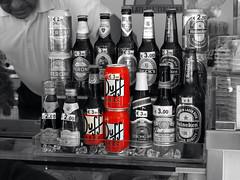 Duff Beer (Benn Gunn Baker) Tags: italy white black color colour tower beer baker with olympus simpsons pisa tuscany homer leaning duff benn gunn