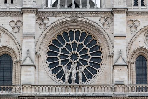 Rosace de la cathédrale Notre-Dame