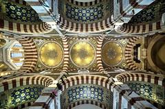 Upwards (Laurent photography) Tags: france church architecture marseille nikon europe interior notredamedelagarde bouchesdurhone d700 laurentphotography