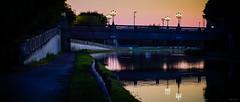 A glimmer of hope (Alexandre LAVIGNE) Tags: canal pentax berge pont couleur ville urbain ambiance artdéco saintquentin k20d pentaxk20d smcpentaxda50135mmf28edifsdm louisengival pontdisle format2351 viaducdelagare