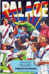 Crystal Palace vs Doncaster Rovers - 1981 - Cover Page (The Sky Strikers) Tags: road park football crystal palace 1981 1980s wembley programme doncaster rovers selhurst