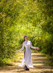 Bamboo forest by PVHuong Photography | 090 8915 090 - Model: Hoai Thuong