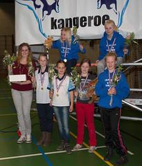 2014 apr. Mini N4.1, kampioen niv.4; Tr. Anieke Wiersma