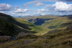View down Langstrath Valley (mhx) Tags: england lakedistrict gimp perl imagemagick ufraw langstrathvalley argyllcms