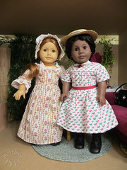 Best Friends for Life (scarlett1854) Tags: doll ag historical addy felicity americangirl dollcollection dollportrait
