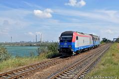 2016 751-1@Navodari (Chirila Alexandru) Tags: rail trains cargo trans hercules ctv vagon midia 060da navodari