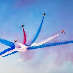 Rhyl Air Show 2014 (Anthony Owen-Jones) Tags: fuji air flight airshow planes fujifilm blueskies rhyl redarrows raf 2014 pitts aerialdisplay xt1 anthonyowenjonescom trigteam