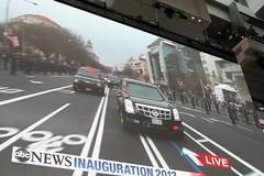 IMG_3483 (avsfan1321) Tags: people usa museum washingtondc dc washington unitedstates unitedstatesofamerica parade obama inauguration motorcade newseum