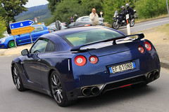 GT-R (Cassio and Leo Magalhaes) Tags: blue azul germany europe nissan alemanha gtr nurburgring worldcars