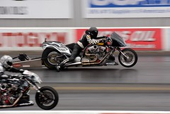 Supertwins (Fast an' Bulbous) Tags: england bike race speed drag nikon europe track power gimp fast september strip fim motorcycle launch euros dragbike qualifying acceleration d7100 eurofinals