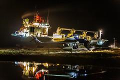 Cargo Green Freezer stranded in Faskrudsfjordur (*Jonina*) Tags: coastguard iceland cargo 500views ísland 1500views 25faves fáskrúðsfjörður faskrudsfjordur landhelgisgæslan flutningaskip jónínaguðrúnóskarsdóttir greenfreezer