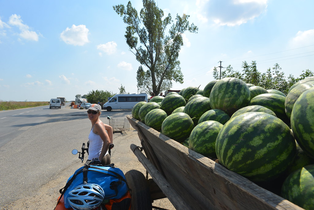 Free watermelons