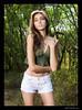 Joleen (madmarv00) Tags: d600 joleen nikon hawaii kylenishiokacom model oahu woods girl shorts camisole brunette people portrait flickrmodel