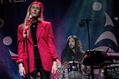 A55T1119 (Nick Kozub) Tags: francofolies ariane brunet outdoor show spectacle energy concert music 1dx canon ef 80200 f28 l montreal 2016 evening performance performer musician festival